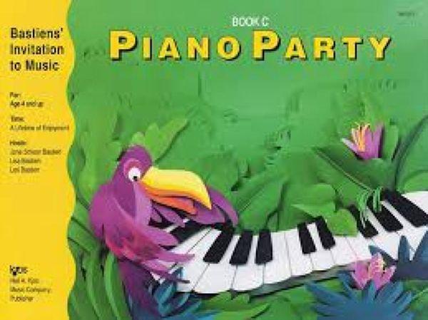 Bastien'S Innovation Piano Party Book C