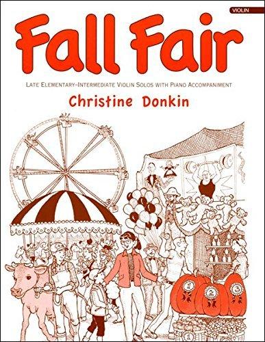 Fall Fair Violin Book