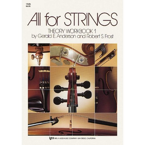 All For Strings Theory Violin Workbook