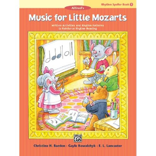 Music For Little Mozarts Rhythm Speller Book