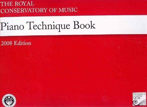 RCM Red Piano Technique Book