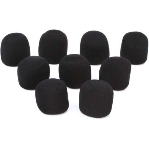 On-Stage Foam Mic Windscreen 9-Pack