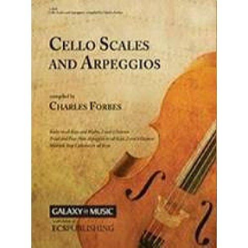 Cello Scales And Arpeggios Book