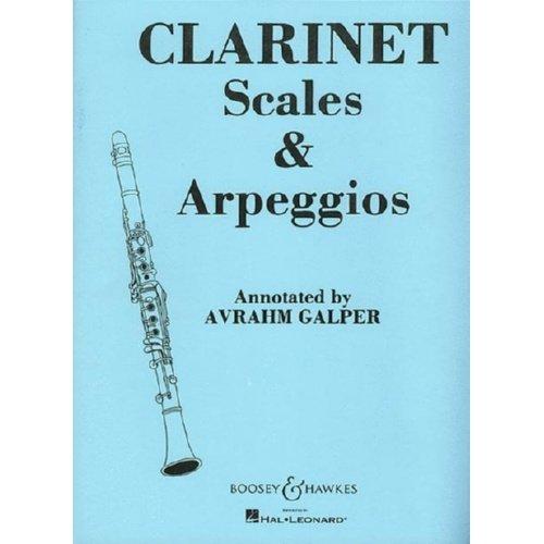 Clarinet Scales & Arpeggios Book
