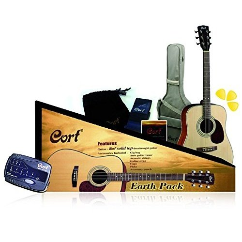 Cort Dreadnought Acoustic Guitar Pack