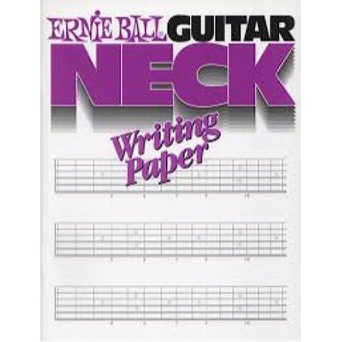 Ernie Ball Guitar Neck Book