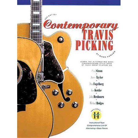 Contemporary Travis Picking W CD