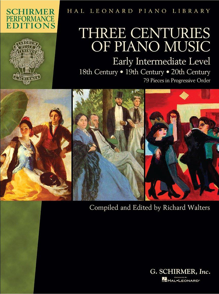 Three Centuries Of Piano Music: Early Intermediate