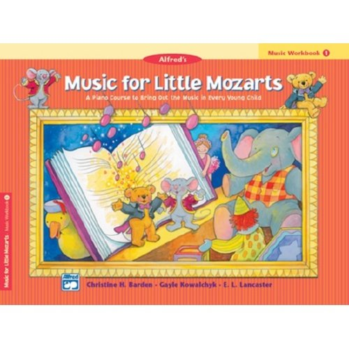 Music For Little Mozarts Music Workbook