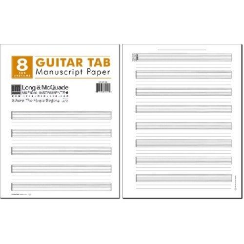 Guitar Manuscript Paper