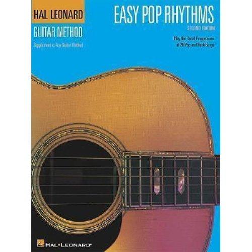 Hal Leonard Easy Pop Rhythms Guitar Book
