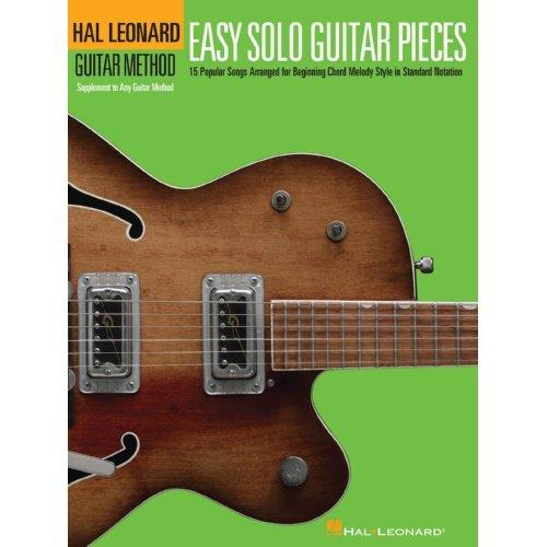 Hal Leonard Easy Solo Guitar Pieces Method Book