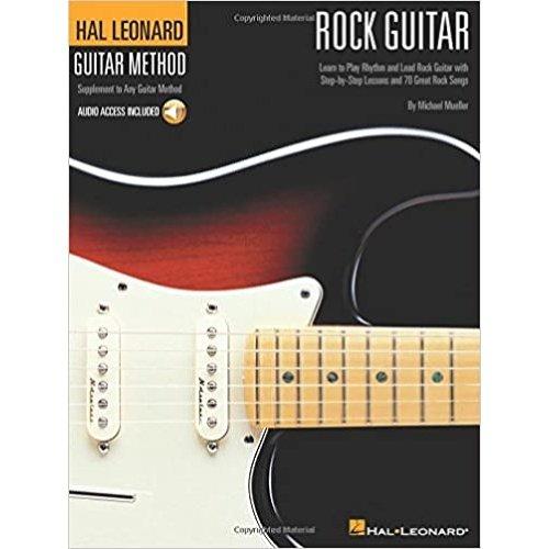 Hal Leonard Rock Guitar Method Book