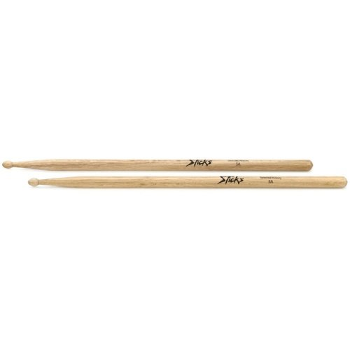 On-Stage Hickory Drum Sticks 5A Wood Tip (HW5A)