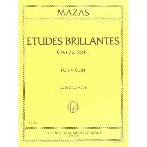 Mazas Etudes Brilliantes Op. 36 Book II