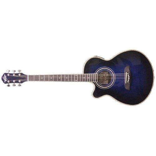 Left Handed Oscar Schmidt Concert Acoustic/Electric Guitar (OG10CE)