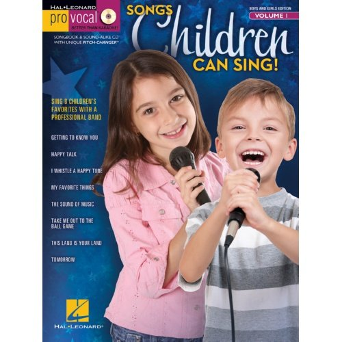 Pro-Vocal Boys And Girls Edition Book