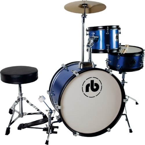 RB Drums 3 Piece Junior Drum Kit