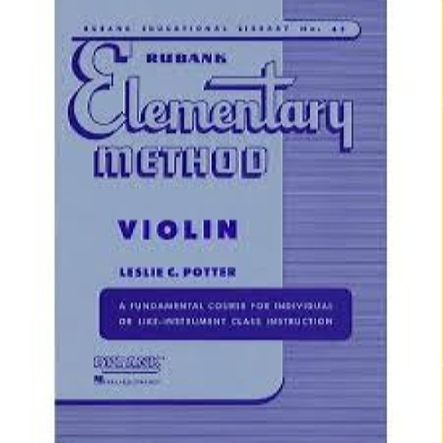 Rubank Method Violin Book