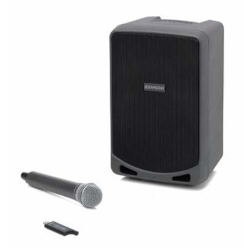 Samson Expedition Rechargable Portable PA with Handheld Wireless System and Bluetooth (XP106W)