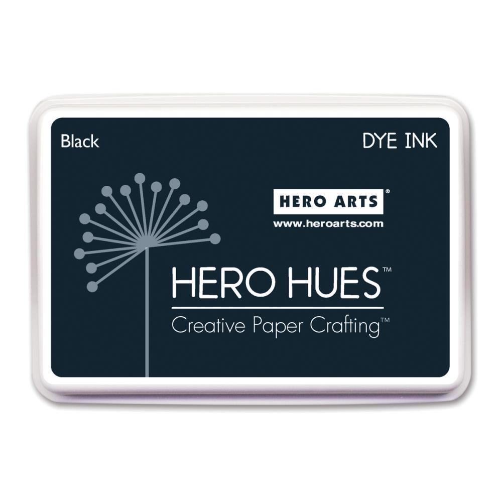 Hero Arts Dye Ink Pad-Black