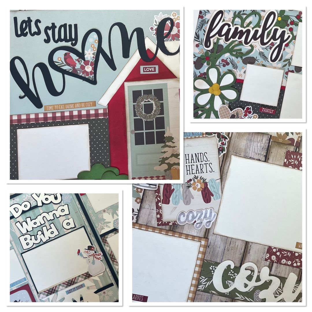 January Layouts 2021 by Gena Glover