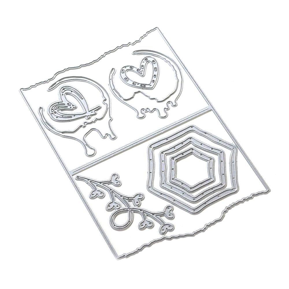 Elizabeth Craft Metal Die-Decorative Insert-Art Journal