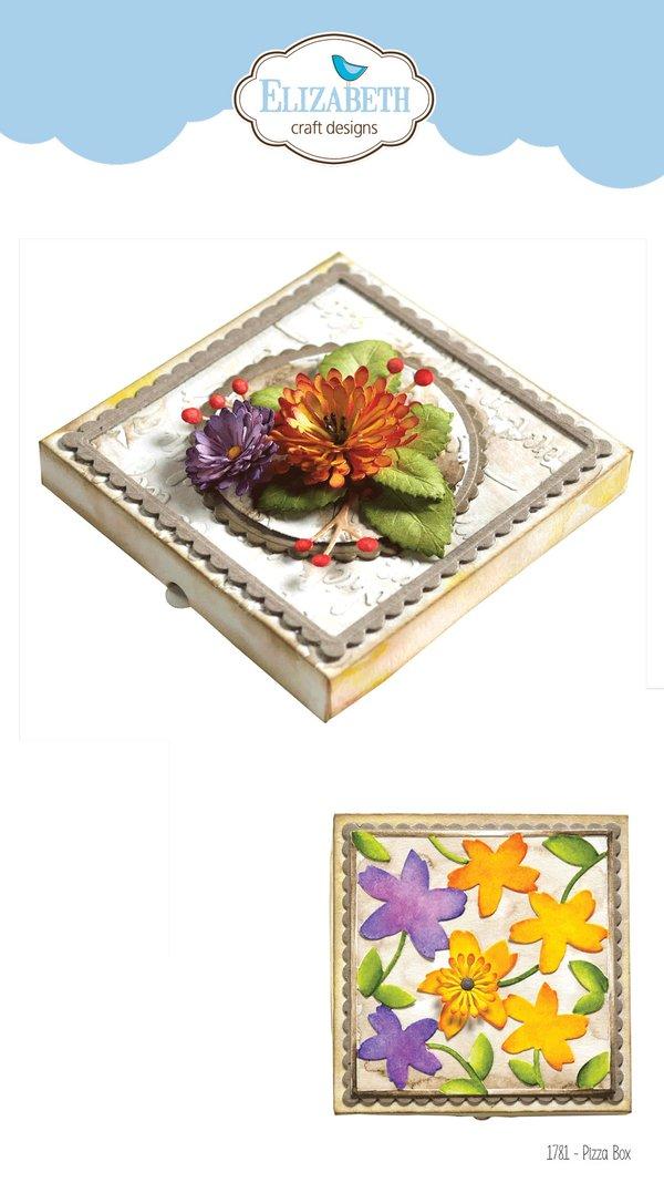 Elizabeth Craft Metal Die-Pizza Box