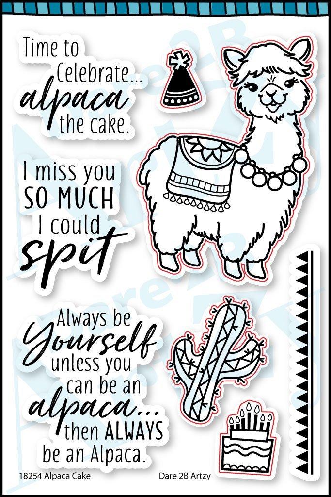 Dare 2B Artsy Alpaca Cake Die/Stamp Group
