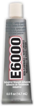 E6000 Multipurpose Adhesive-.5oz Clear