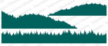 Tree Line Layers Stamp