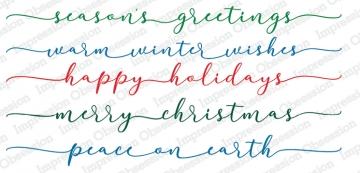 Winter Greetings Stamp