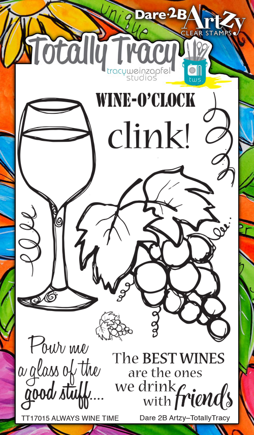 Always Wine Time Stamp Set