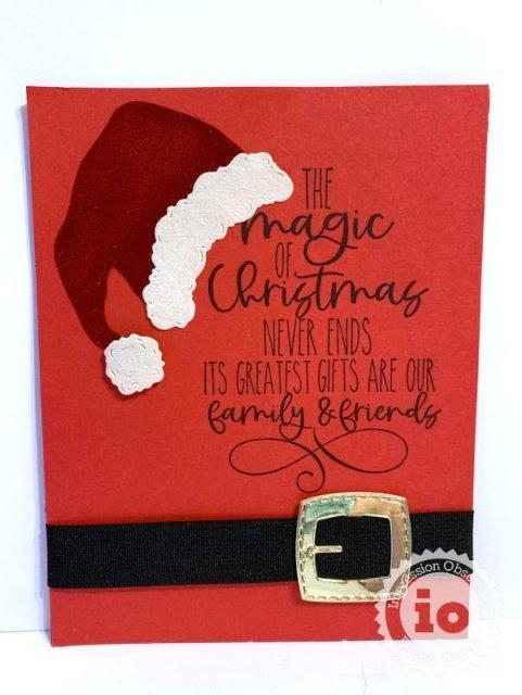 Magic Christmas Stamp