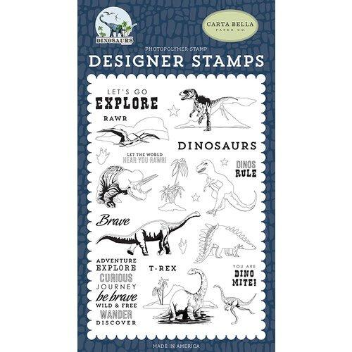 Dinosaurs Stamp Set