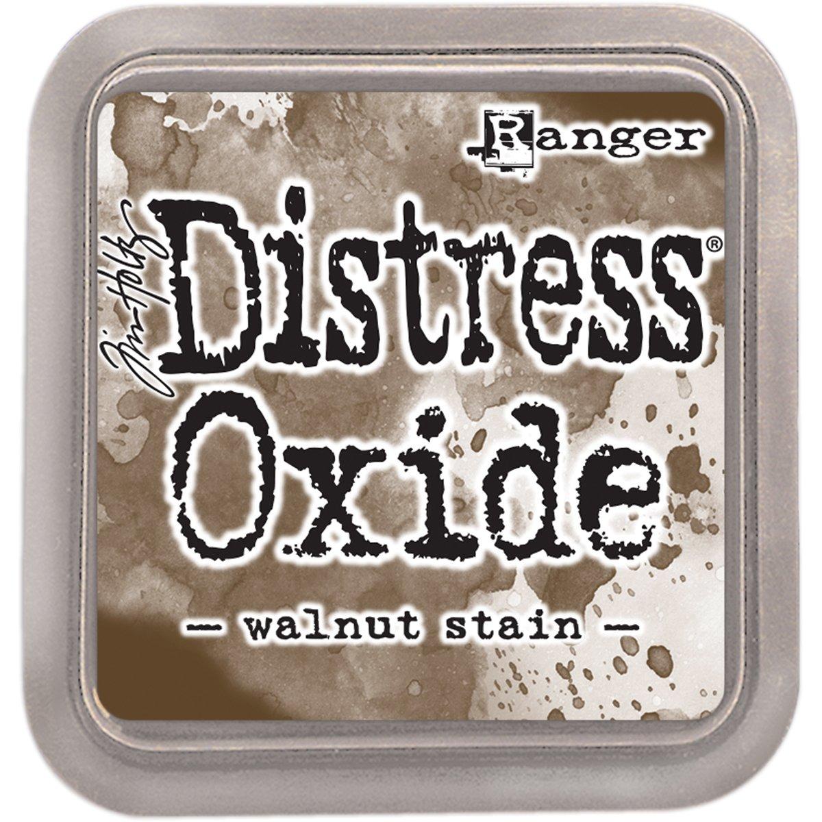 Distress Oxides Ink Pad-Walnut Stain