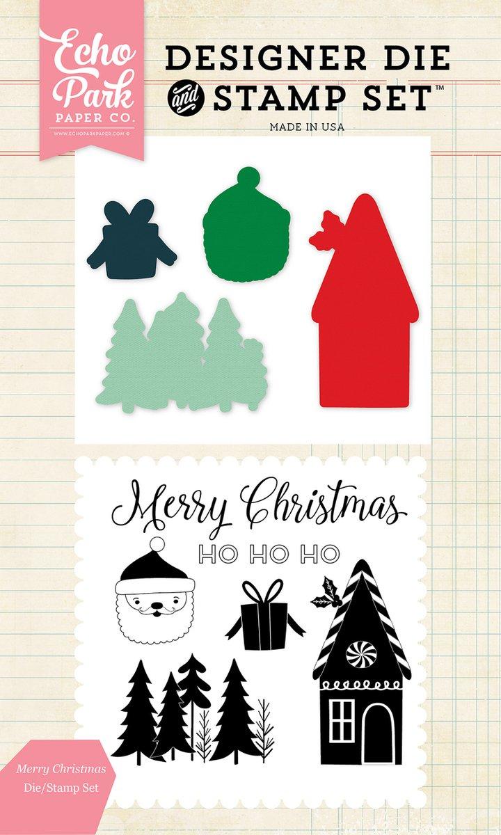 Merry Christmas Die/Stamp