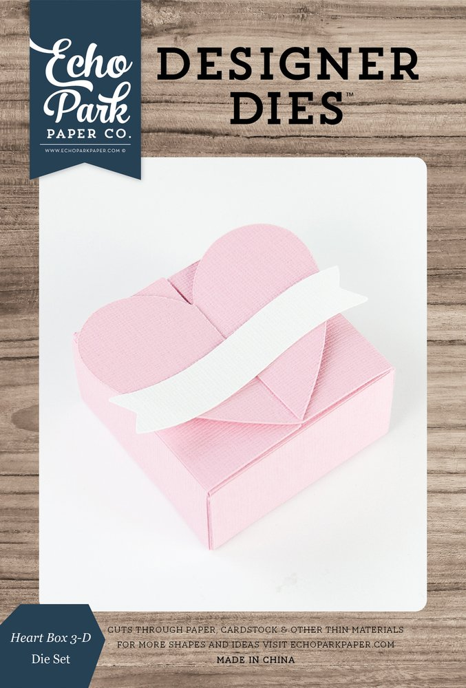 Heart Box 3-D Die Set