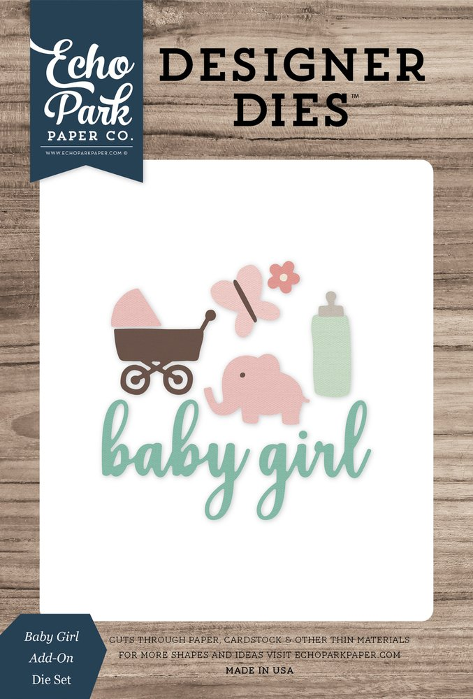 Baby Girl add-On Die set