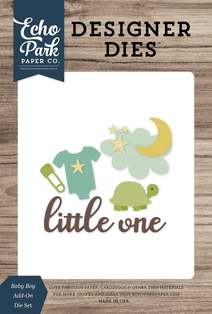 Baby Boy Add-on Die Set