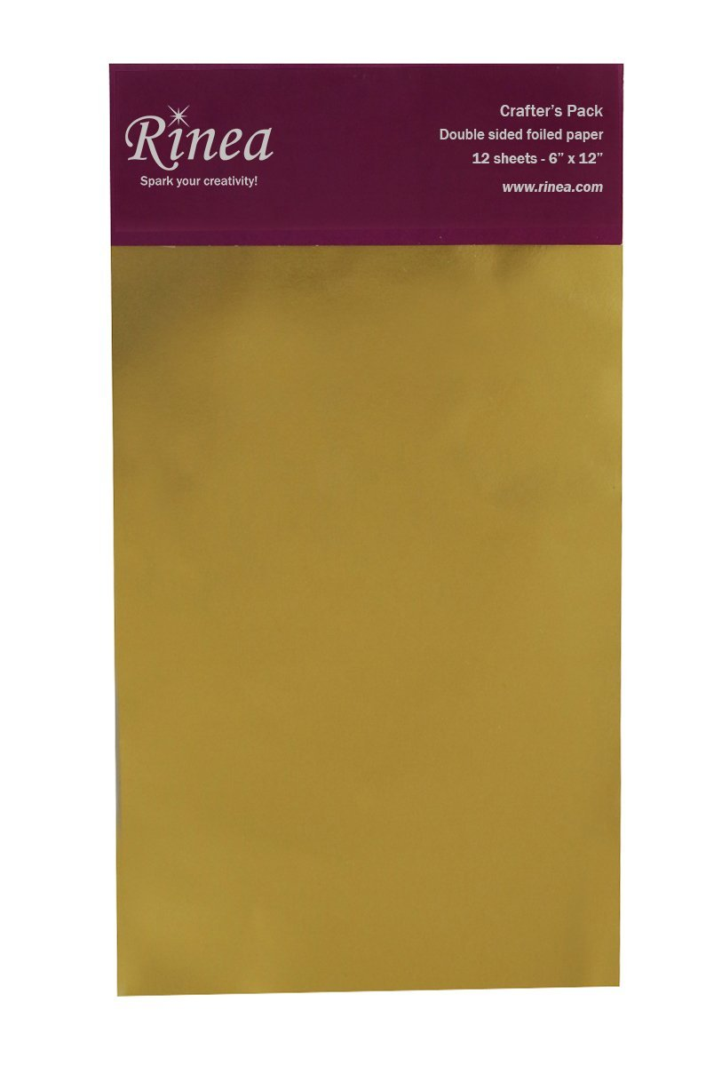 Gold/Gold Glossy Foiled Paper