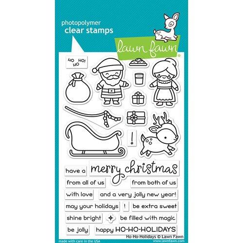 Ho-Ho-Holidays Stamp and Die Set Group