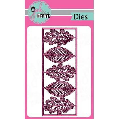 Pink and Main Leafy Slimline Dies