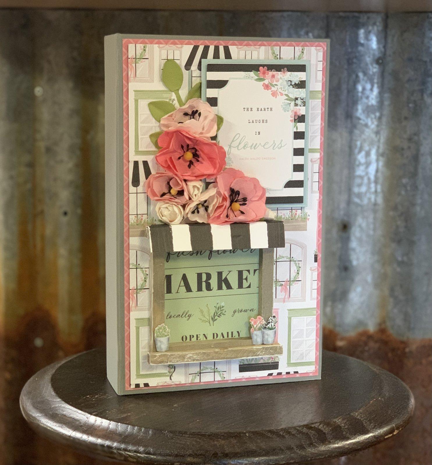 Flower Garden Album Kit