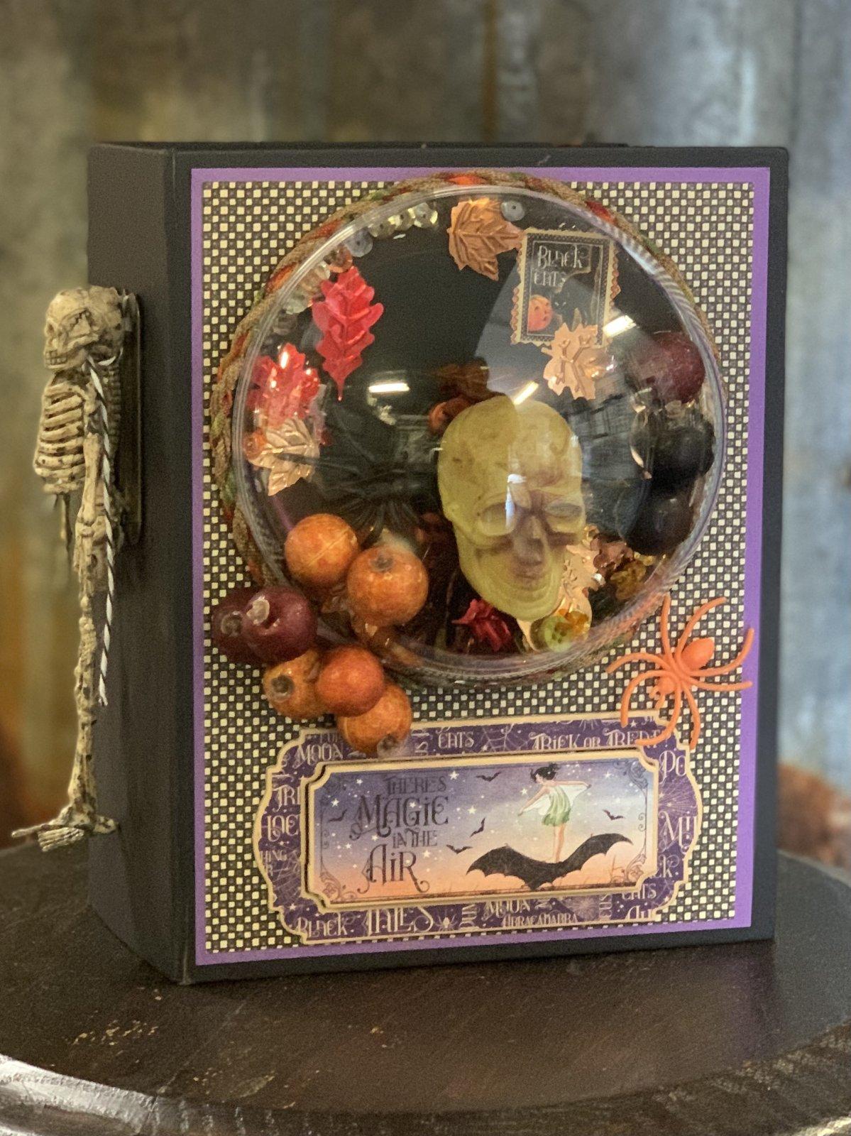 Purple Haze Halloween Album Kit