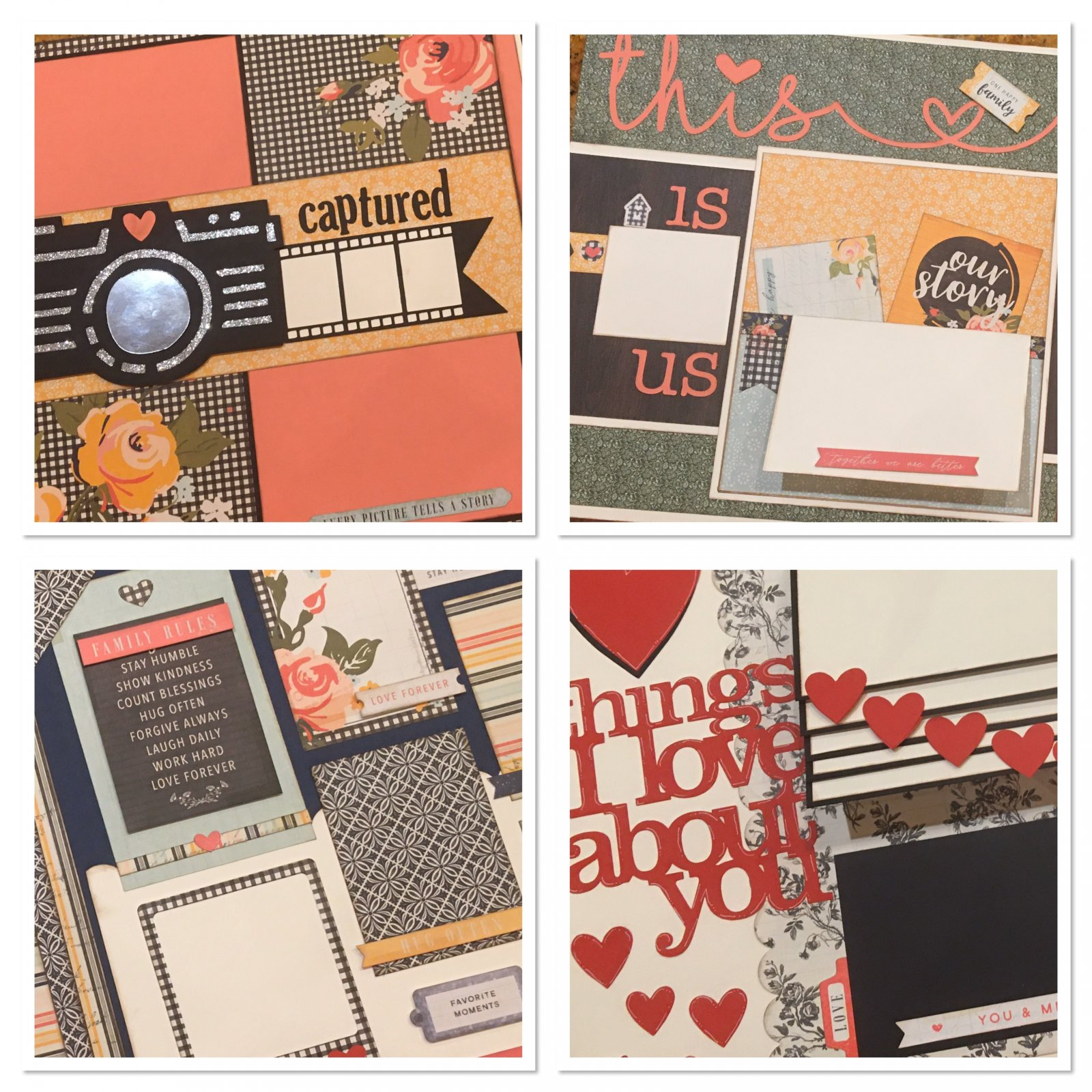 February Layouts 2020 by Gena Glover