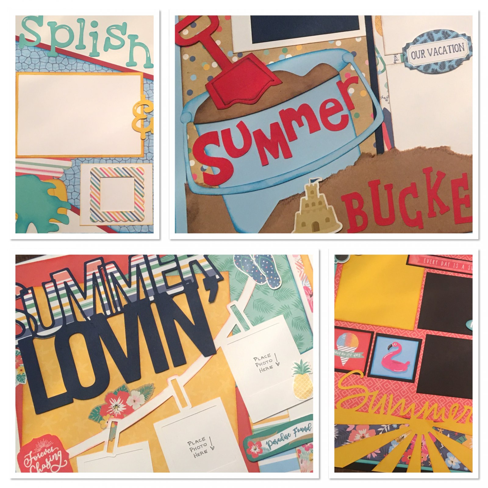 June Layouts 2020 by Gena Glover