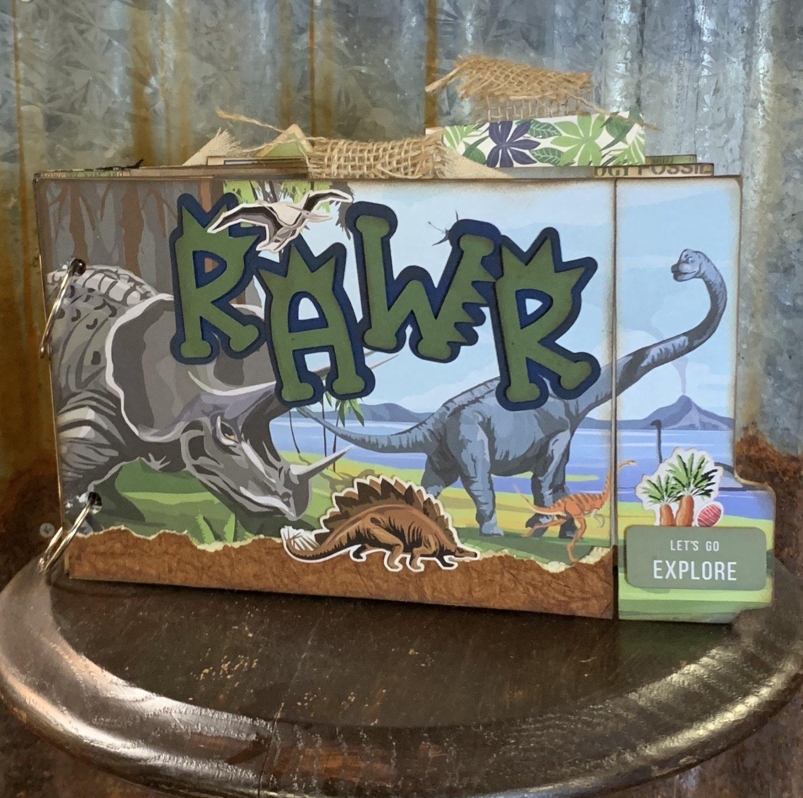 Dinosaur Album by Gena Glover