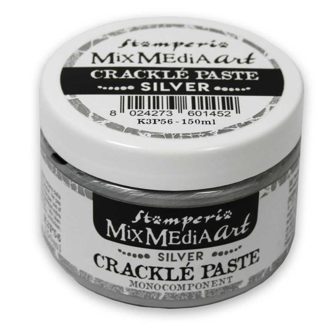 Crackle Paste Silver