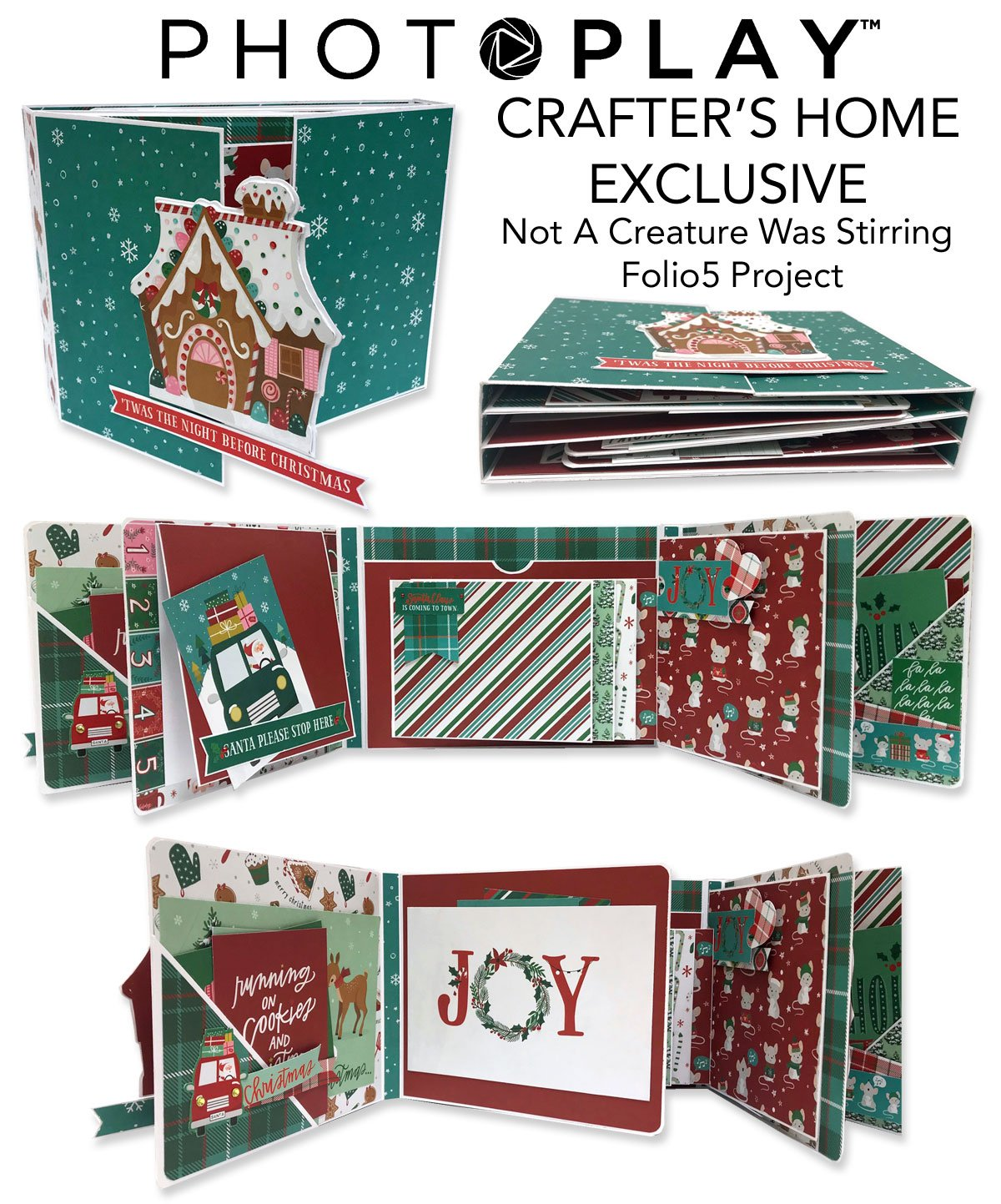 Exclusive Folio 5 Project- Not A Creature Was Stirring